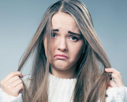 آیا چربی مو شما را اذیت می کند؟